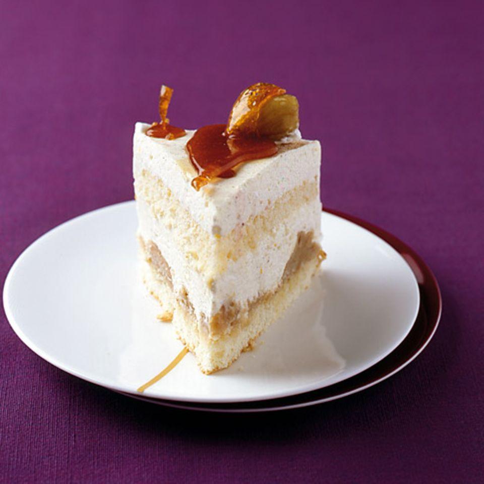 Maronen-Käsesahne-Torte