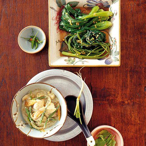 Geschmortes Thai-Gemüse