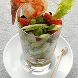 Bohnensalat mit Gambas