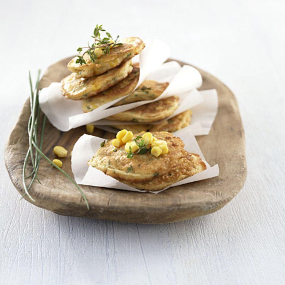 Aromatische Maisküchlein