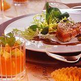 Thunfisch mit Möhrensülze
