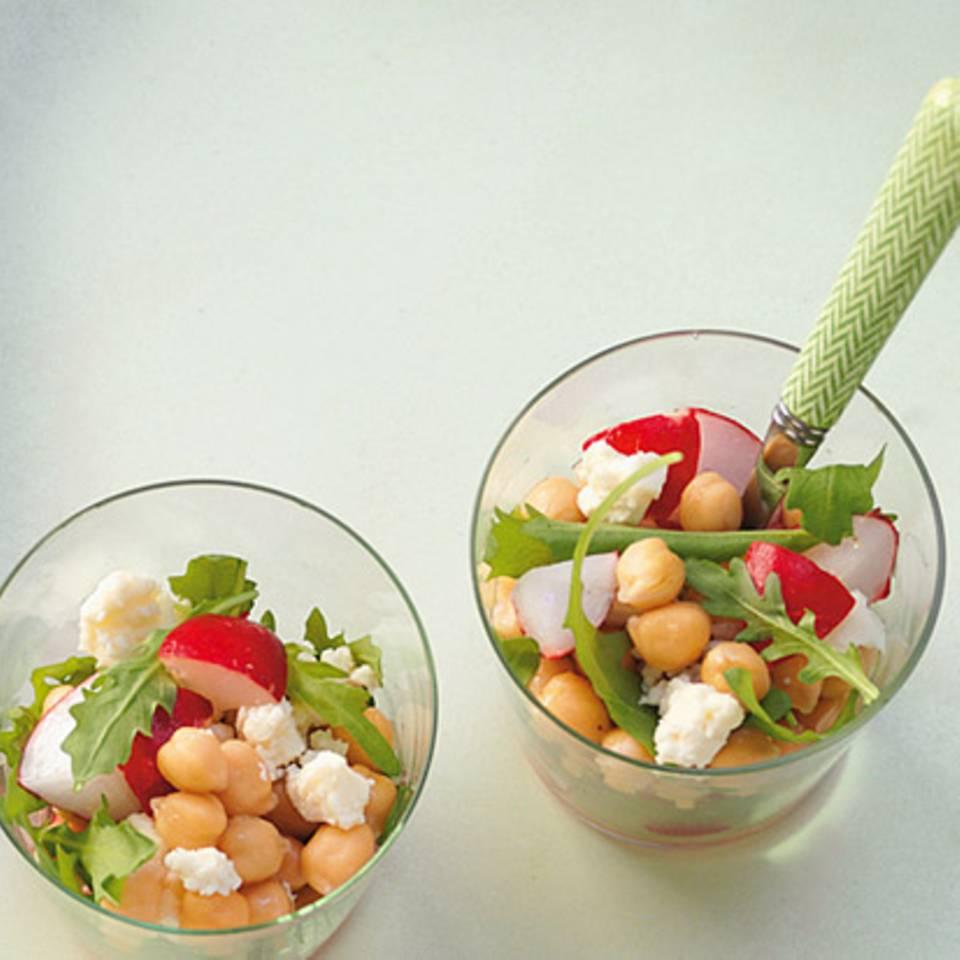 Erbsen-Kartoffelsalat Rezept