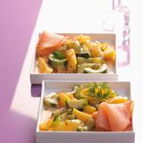 Orangen-Dill-Ragout mit Gurken
