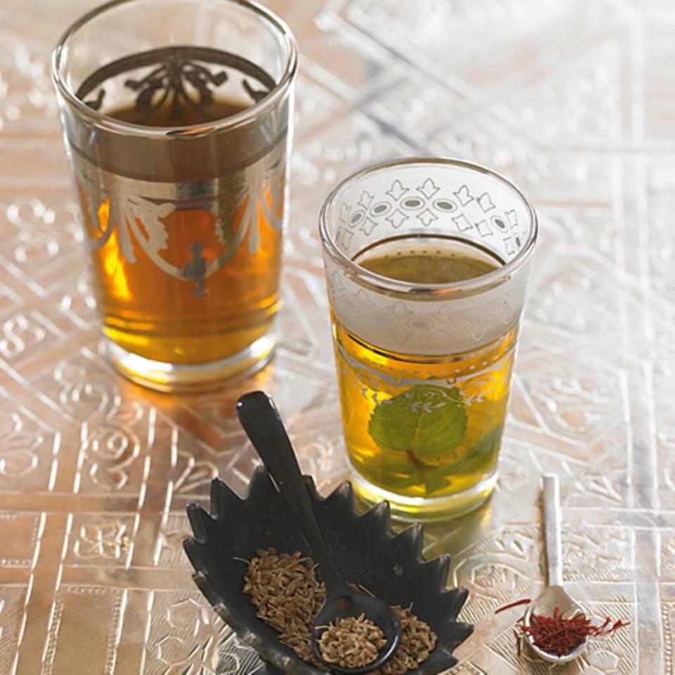 Marokkanischer Minztee Rezept