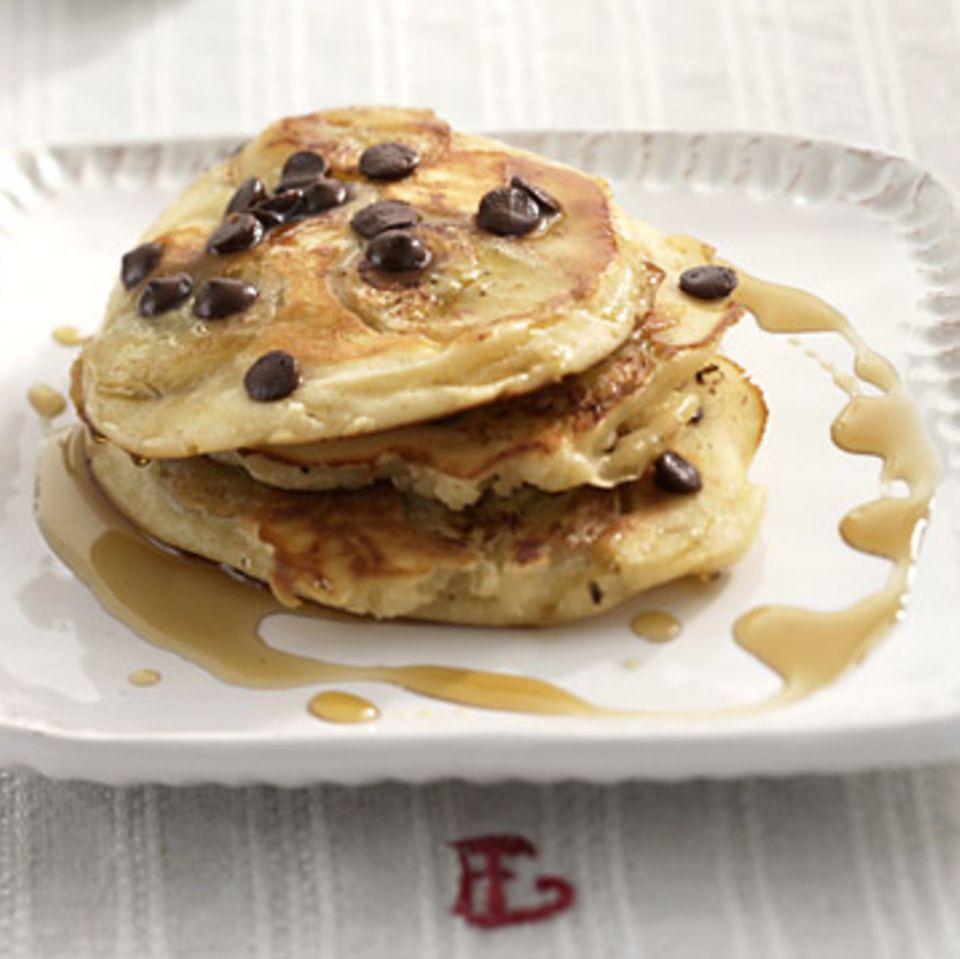 Schoko-Bananen-Pancake