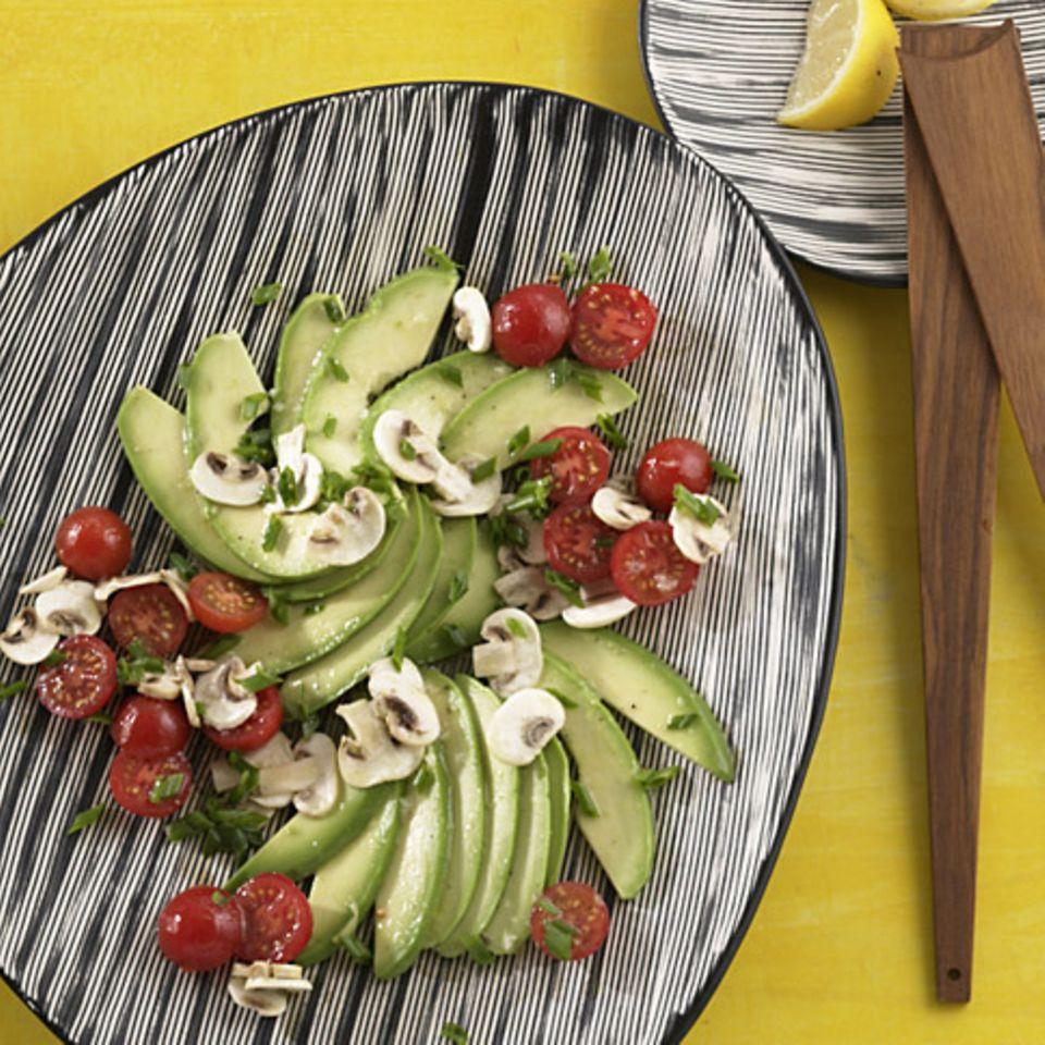 Avocado-Pilz-Salat