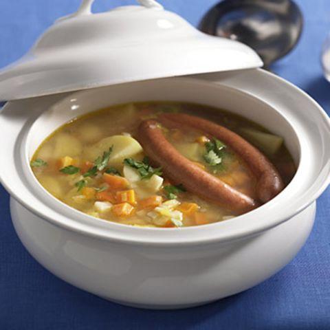 Suppengrün-Eintopf
