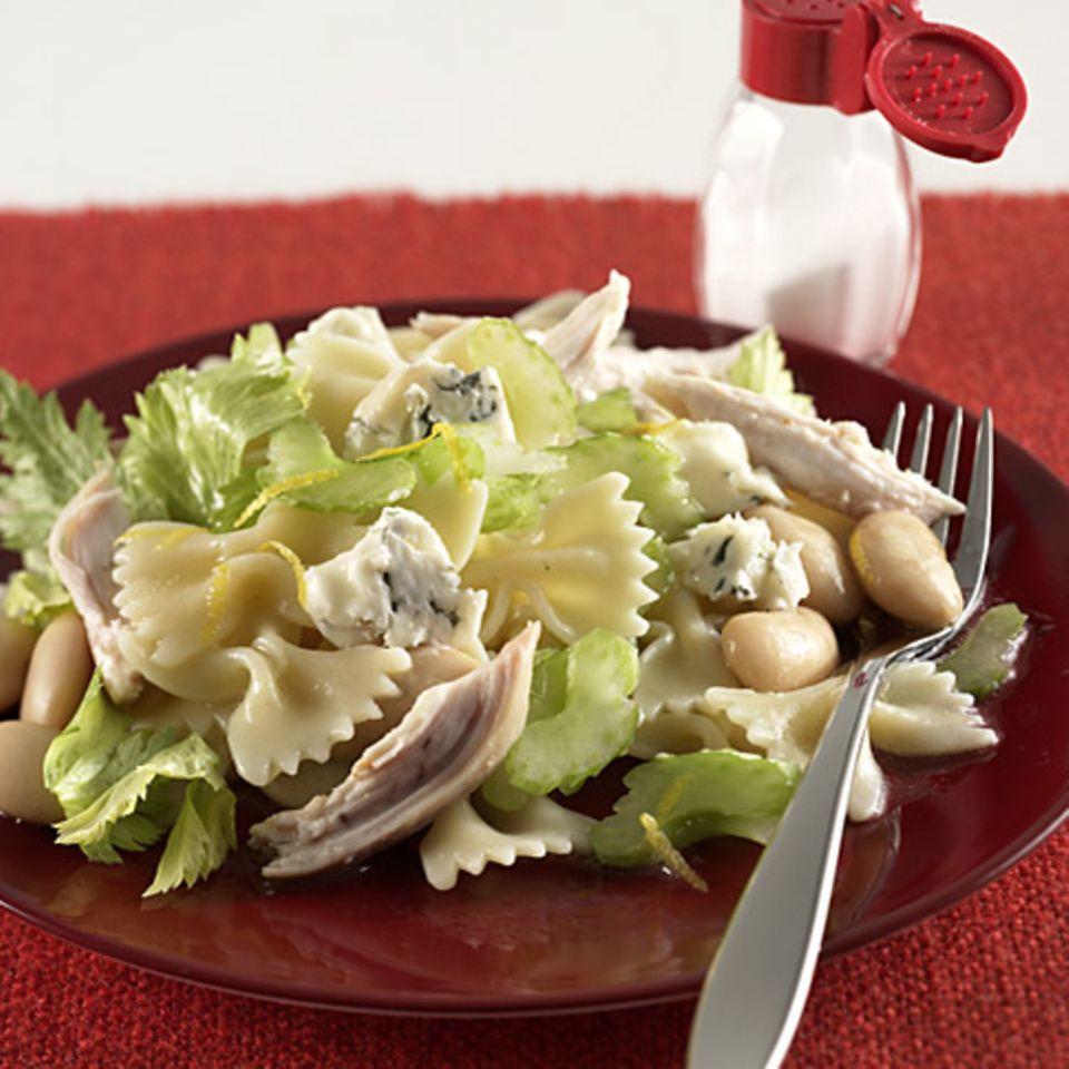 Brathähnchen-Pasta-Salat