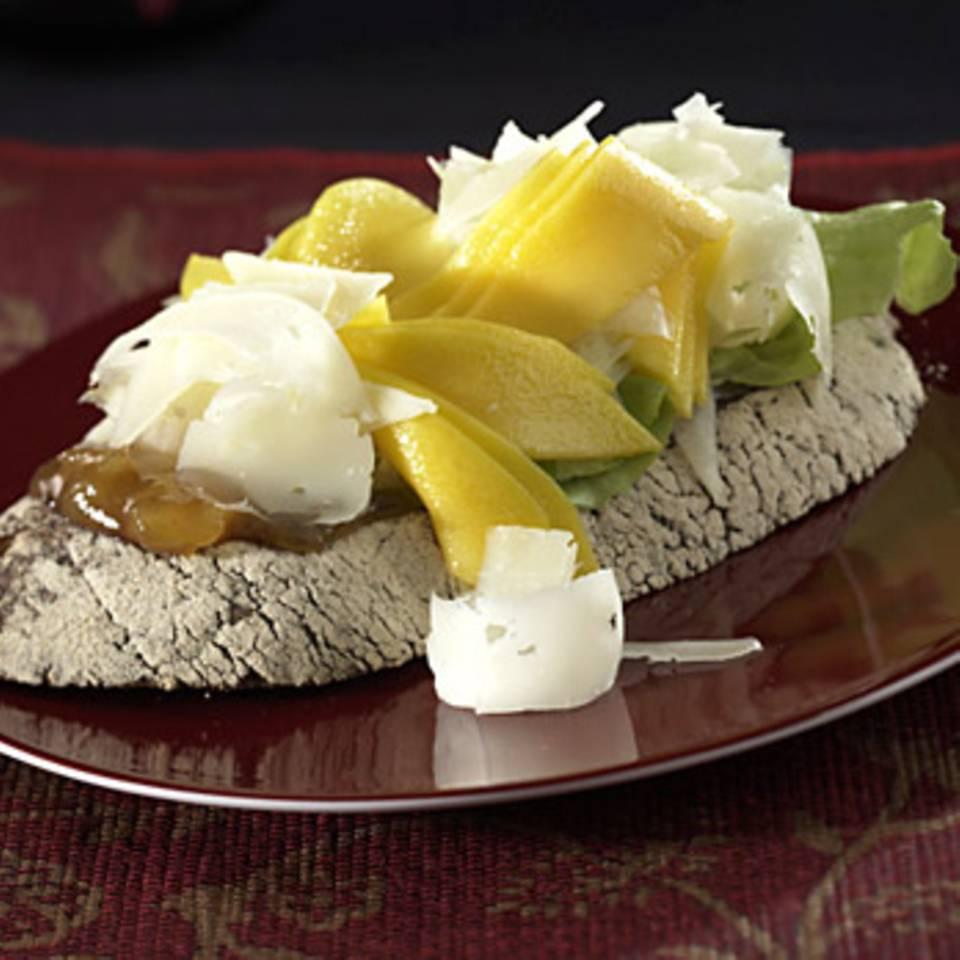 Mango-Manchego-Brot Rezept