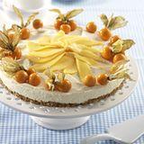 Mango-Physalis-Torte