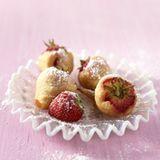 Gebackene Erdbeeren