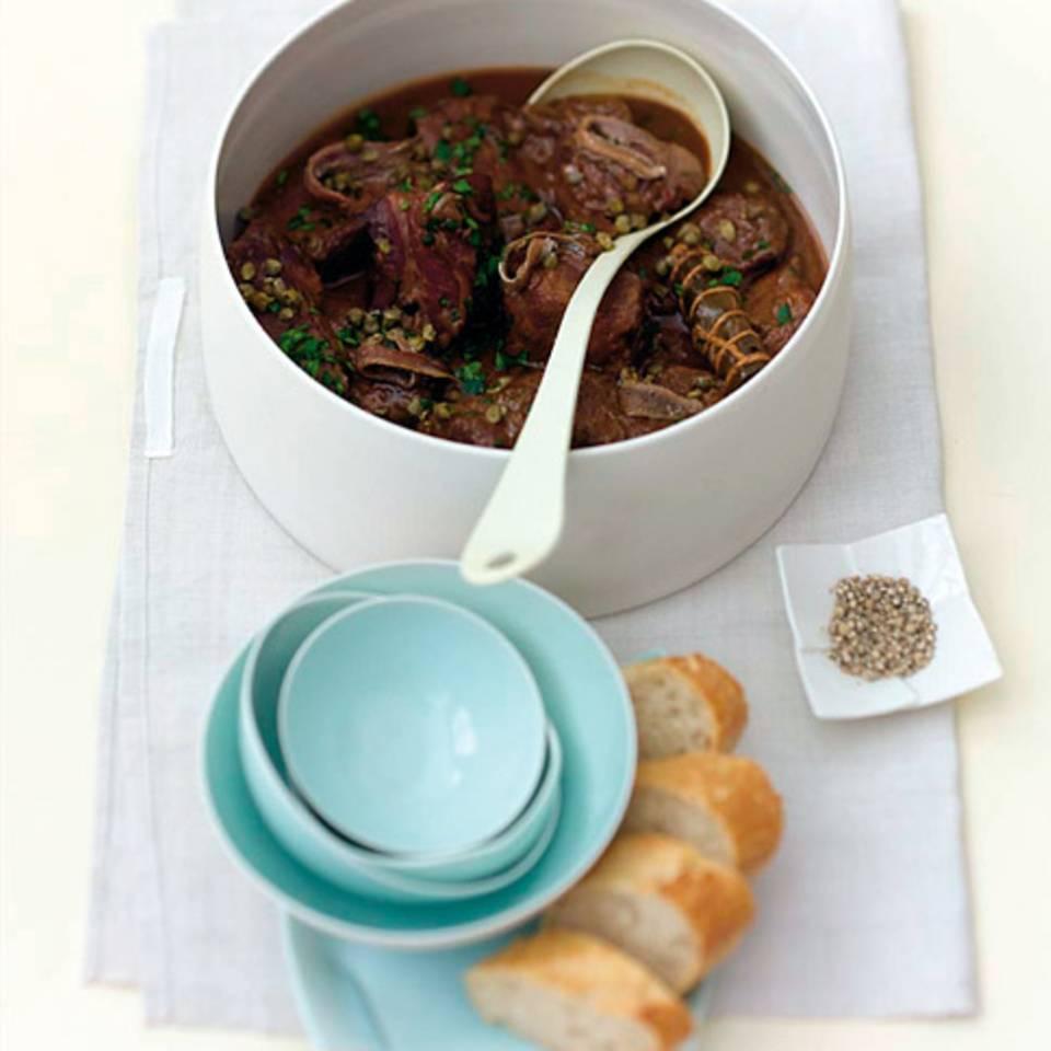 Rindfleisch mit Kapern und Sardellen Rezept