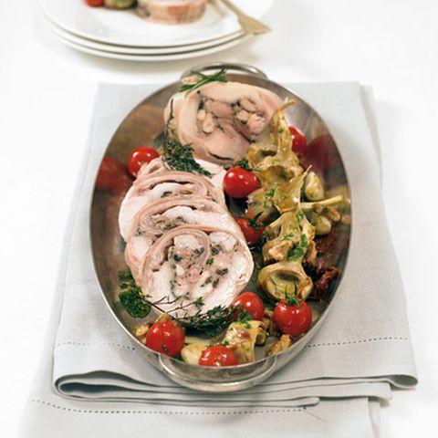 Artischockengemüse mit Walnuss-Pesto
