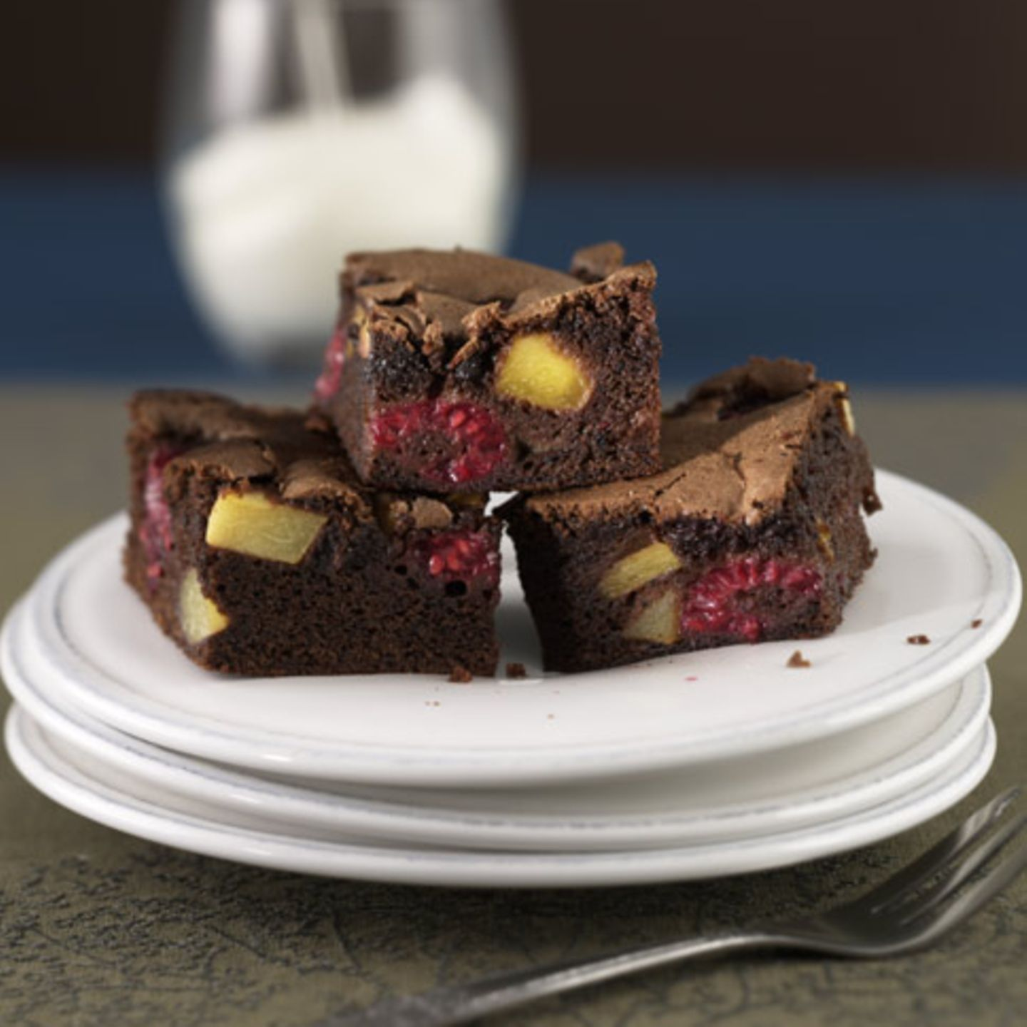 Fruchtige Brownies