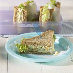 Hähnchen-Sandwiches
