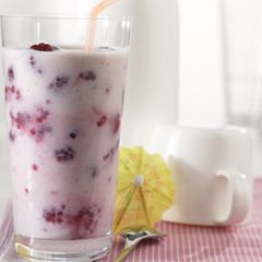 Himbeer-Buttermilch-Drink