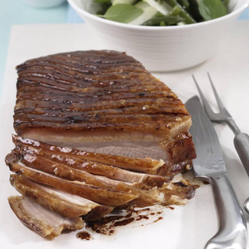 Süßer Schweinebauch Rezept