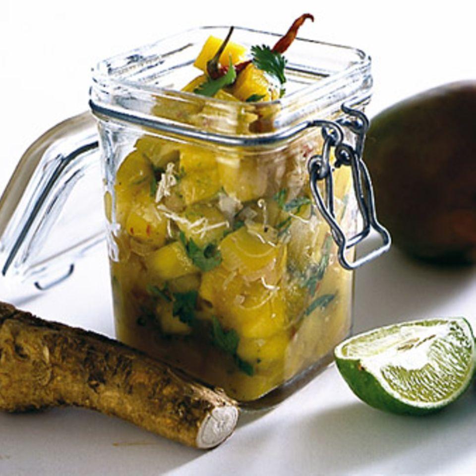 Meerrettich-Mango-Relish