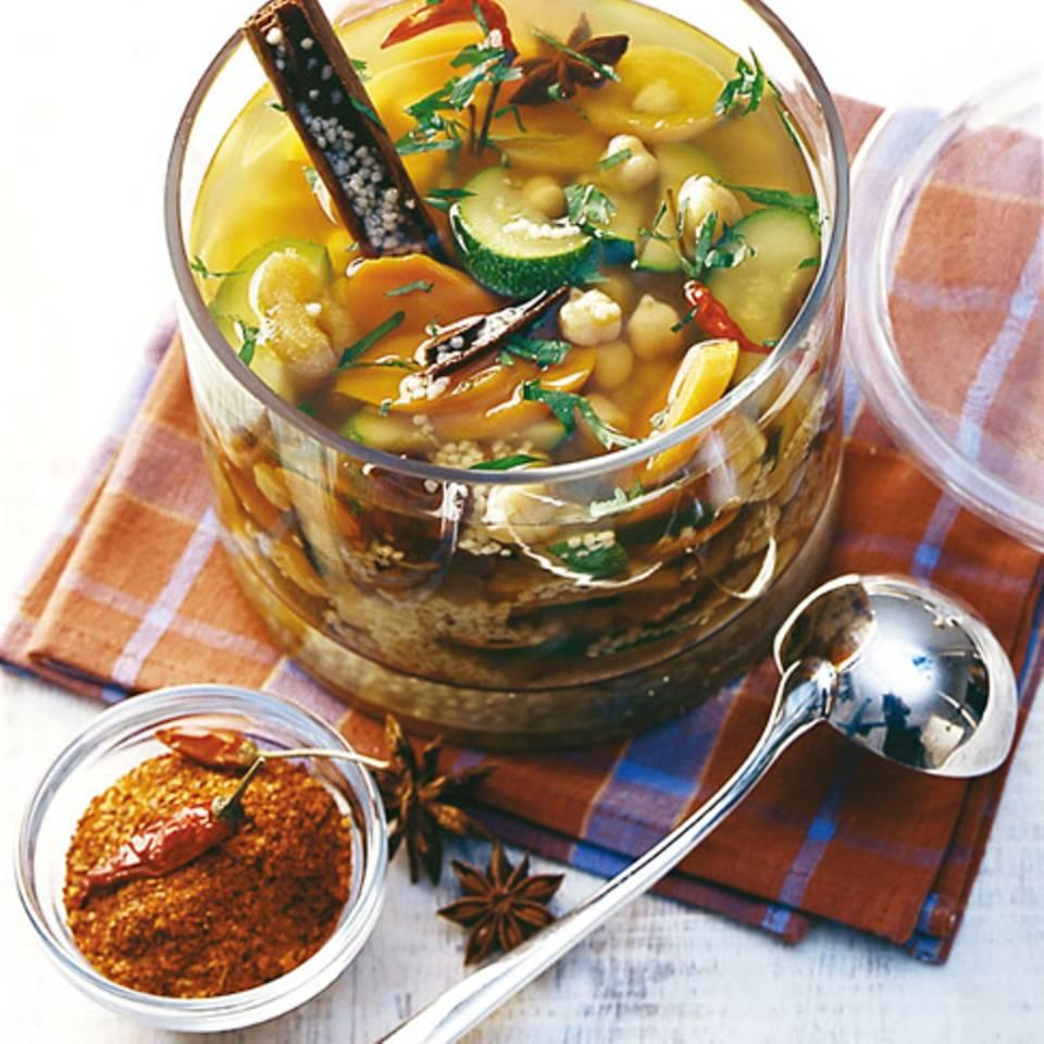 Orientalische Gemüsesuppe Rezept