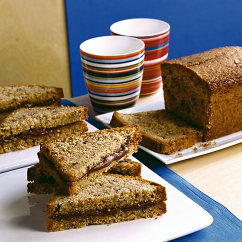 Nusskuchen-Sandwich