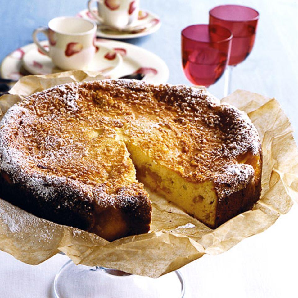 Quark-Mango-Torte