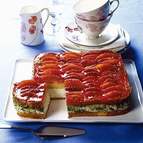 Blutorangen-Torte