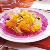 Kürbissalat mit orangen