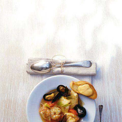 Bouillabaisse (südfranzösische Fischsuppe)