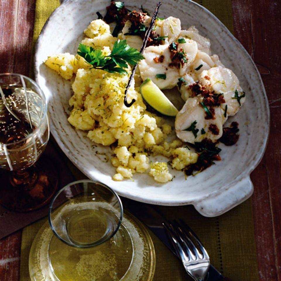 Seeteufel mit Kartoffelstampf