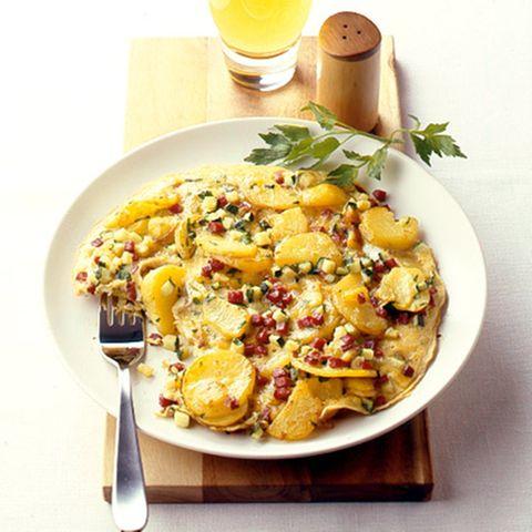 Bauerfrühstück mit Cabanossi