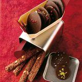 Würzige Schokoladentaler