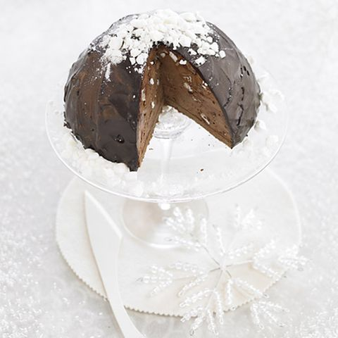 Cupola con mousse al cioccolato (Schoko-Mousse-Torte)