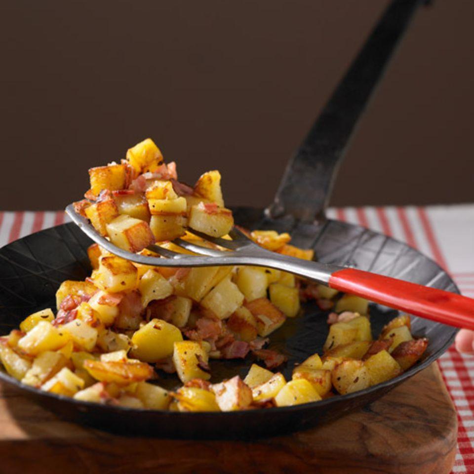 Bratkartoffeln mit Kümmel