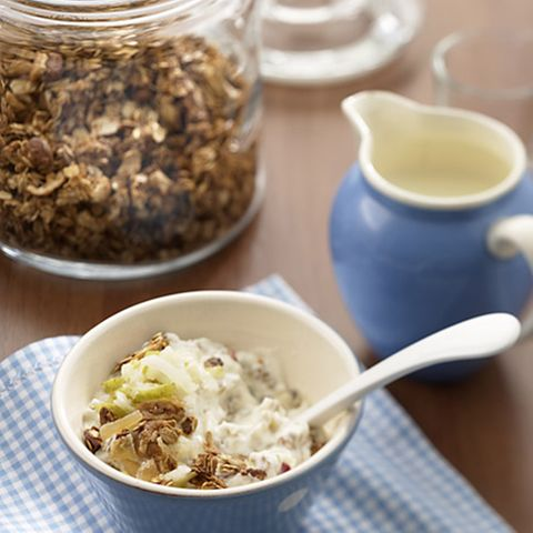 Müsli-Frühstück