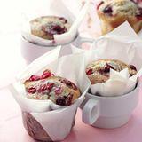 Cranberry-Mohn-Tassenkuchen