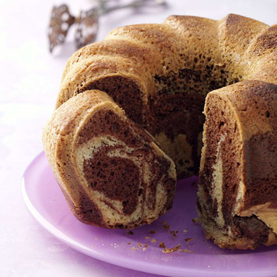 Marmorkuchen mit Rapsöl Rezept