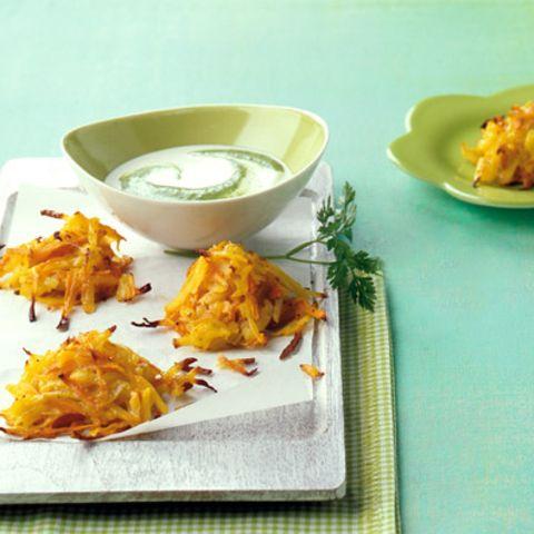 Kartoffel-Möhren-Küchlein