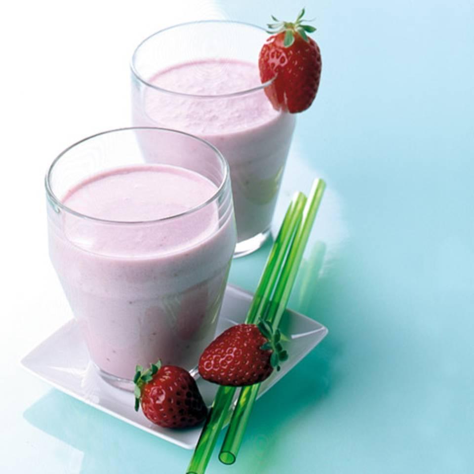 Erdbeer-Kokos-Drink Rezept