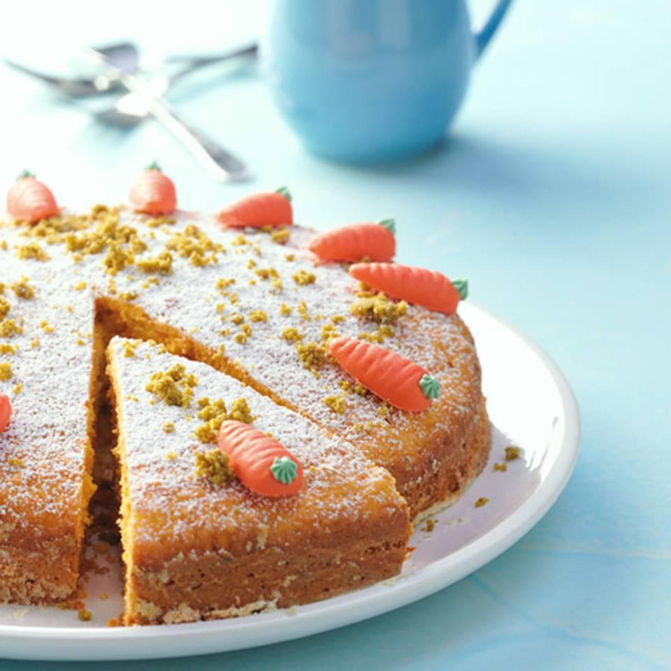 Möhrenkuchen mit Sonnenblumenöl Rezept