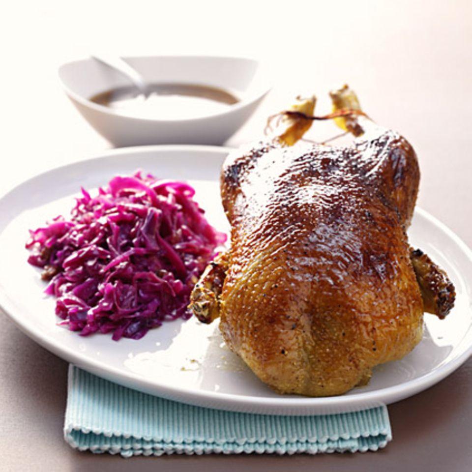 Ente aus dem Ofen