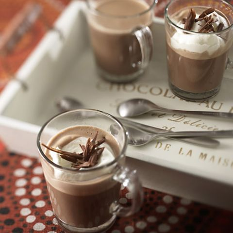 Heiße Schokolade klassisch