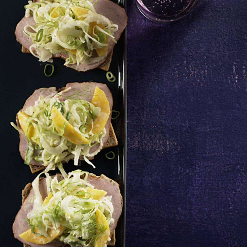 Krautsalat mit Mango Rezept
