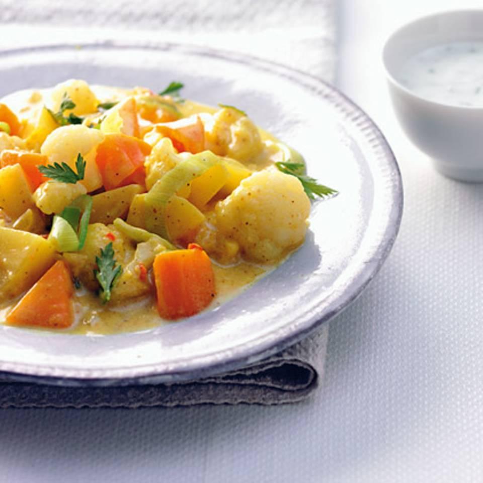 Curry-Gemüse-Eintopf Rezept