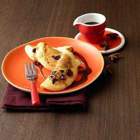 Mini-Omelettes mit Sternanis-Kaffee-Sirup