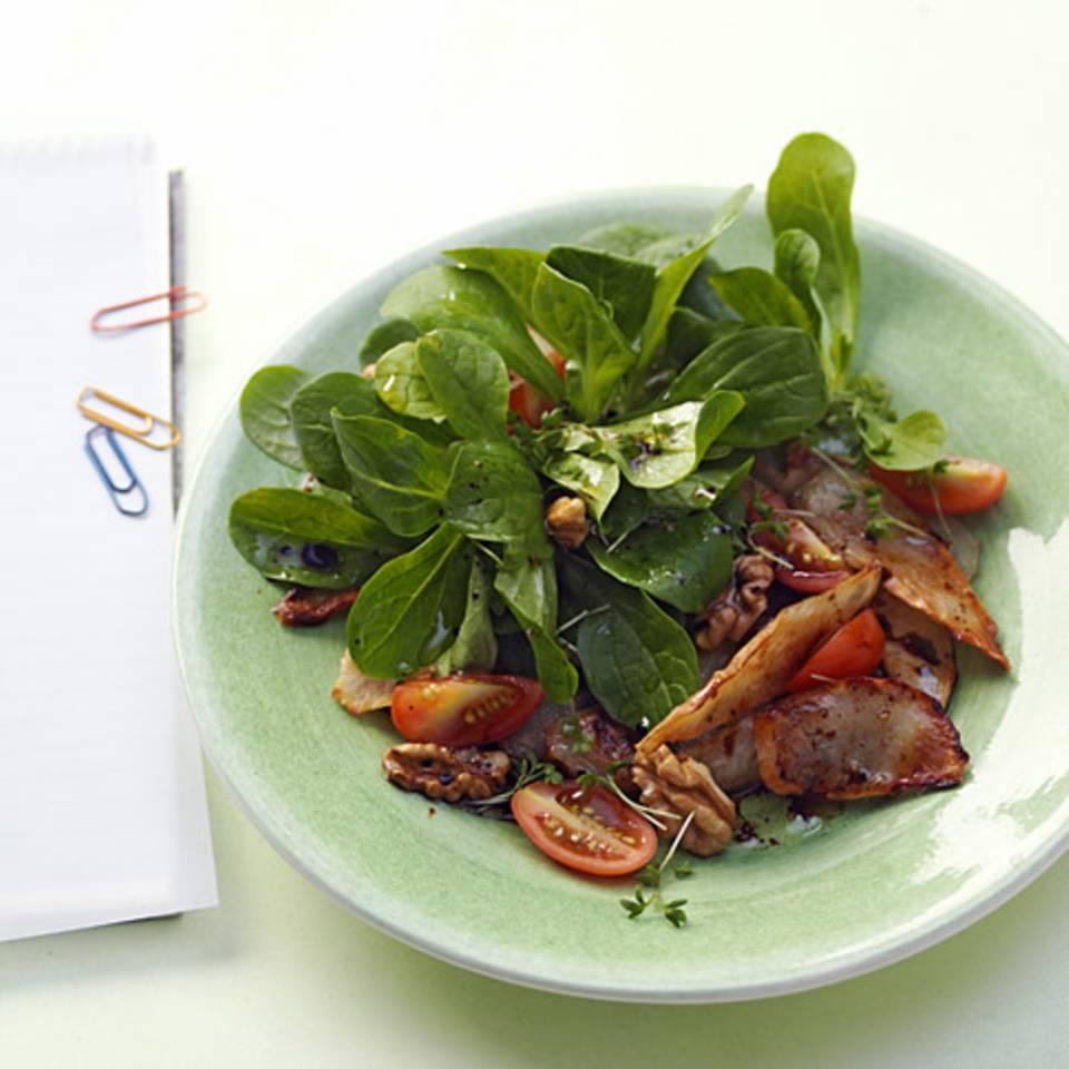 Feldsalat mit Topinambur Rezept