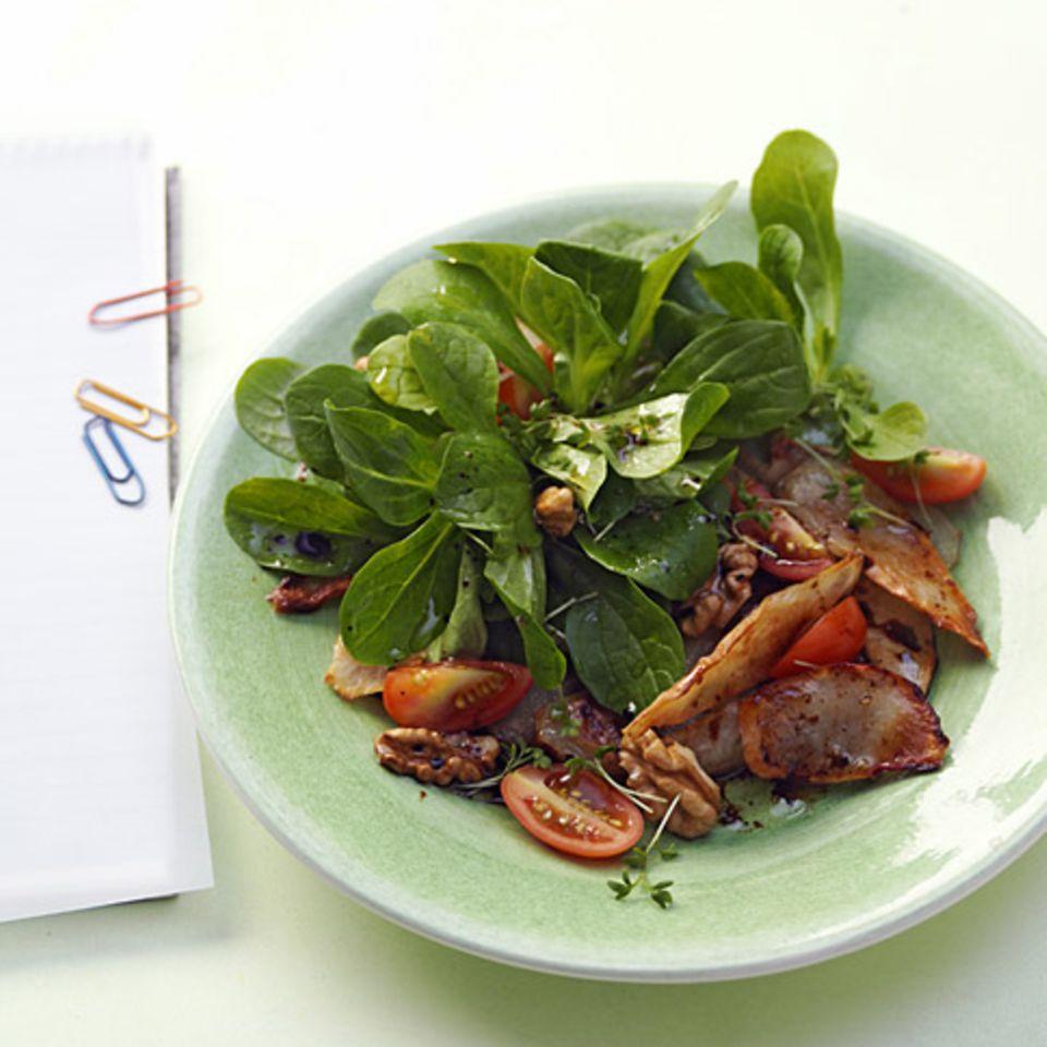 Feldsalat mit Topinambur