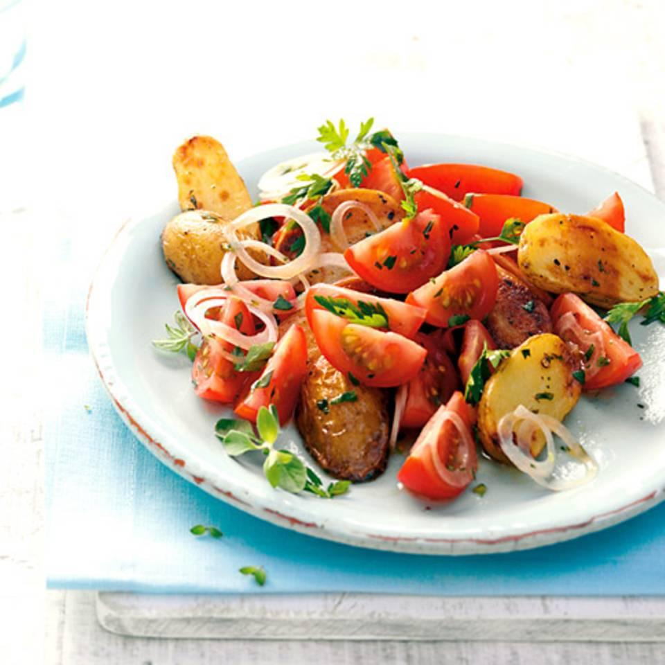 Kartoffel-Tomaten-Salat Rezept