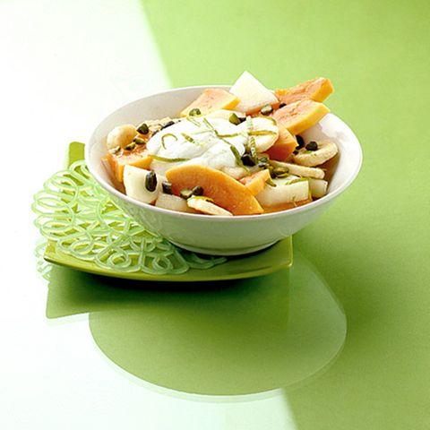 Papaya-Melonen-Salat
