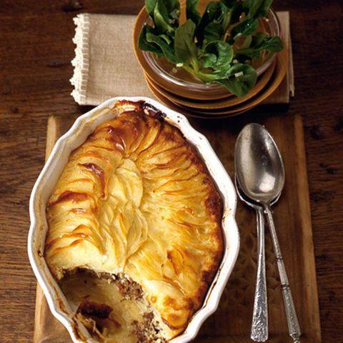 Kartoffelauflauf mit Lamm