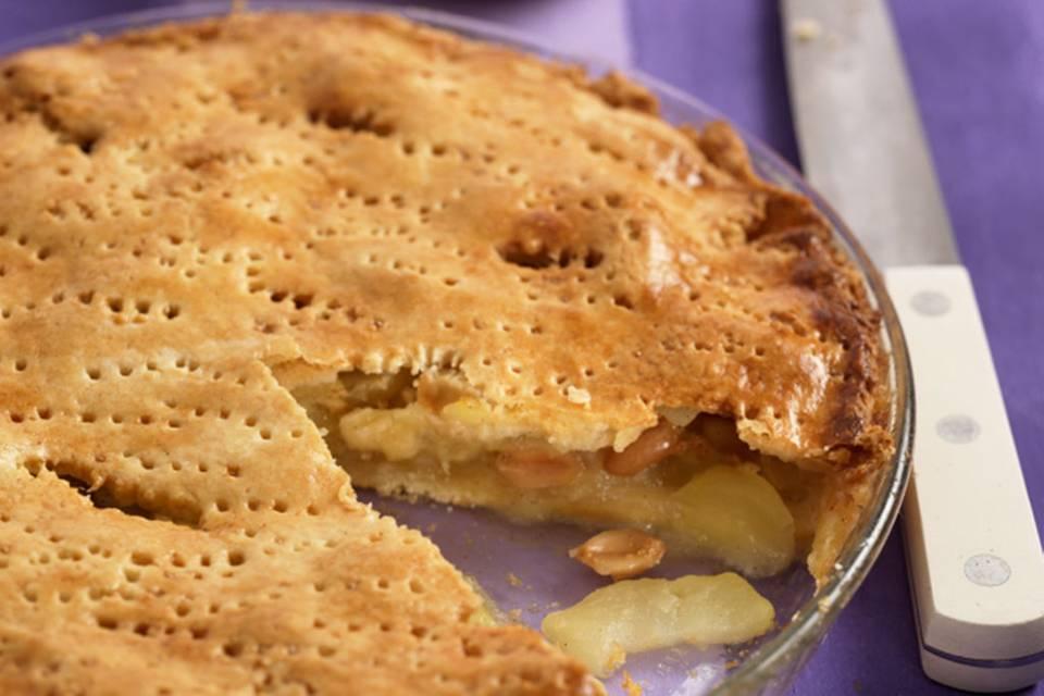 Apfel-Erdnuss-Pie Rezept